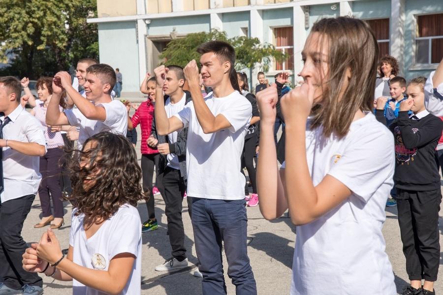 """Европейски ден на спорта в IT Гимназия """"Екзюпери"""""""