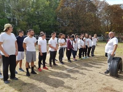 """Европейски фитнес ден в IT Гимназия """"Екзюпери"""""""