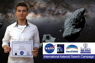 """Гимназия """"Екзюпери"""" с участник в Международната програма за търсене и проследяване на нови астероиди на НАСА"""