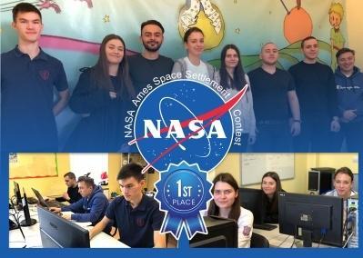 Първо място в конкурс на NASA