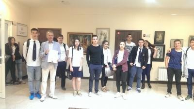 Посещение в Икономически университет - Варна
